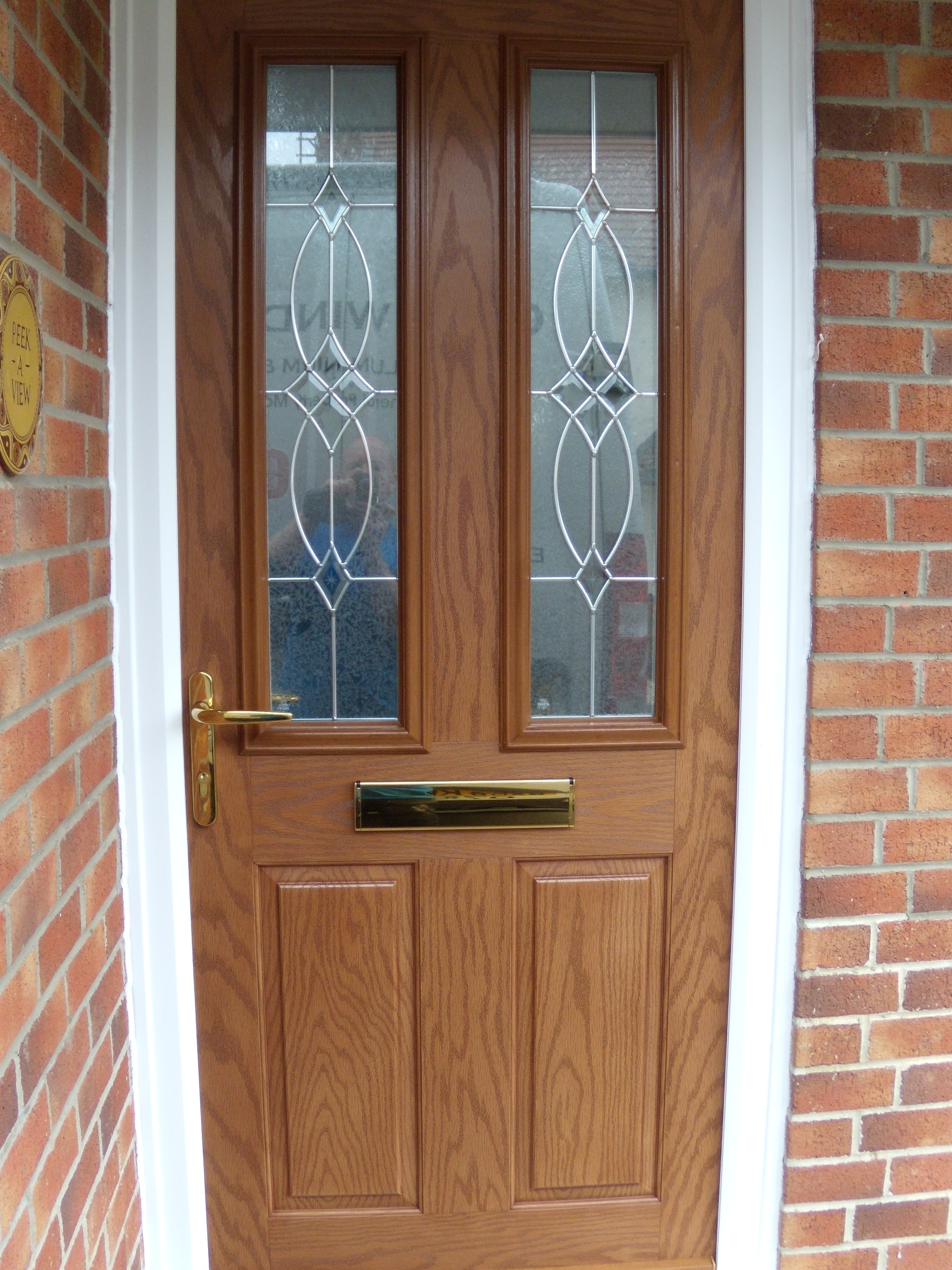 New composite front door quay windows for New front doors for homes