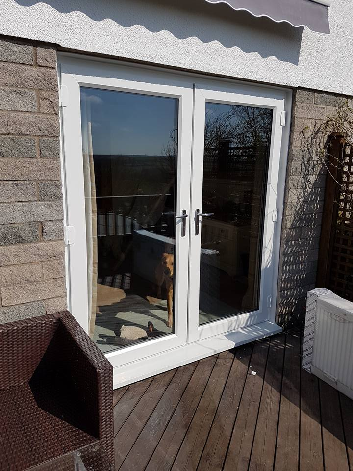 Anthracite Grey Front Door Windows And French Doors